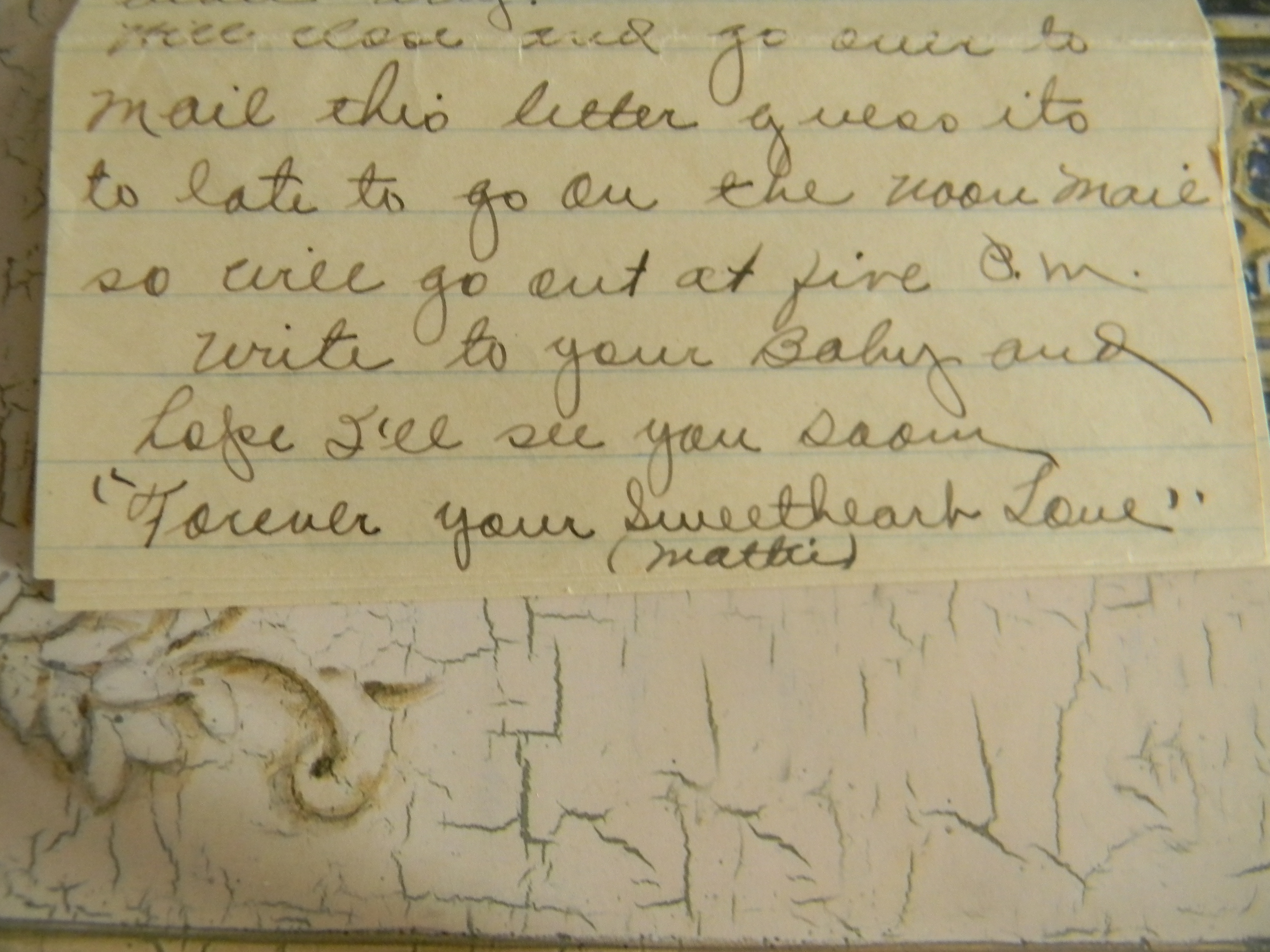 Elizabeth barrett browning didnt have a lock on love letters my dearest baby love this is how my grandmother started a letter to my grandfather when she was away from him while visiting her parents mitanshu Choice Image