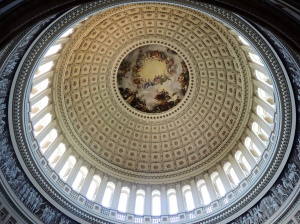 The dome in the Capitol